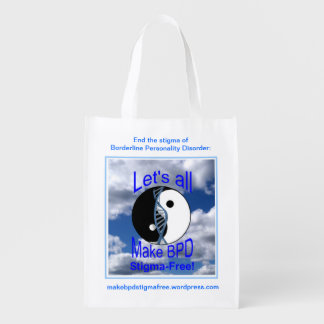 Make BPD Stigma-Free Reusable Bag Reusable Grocery Bag