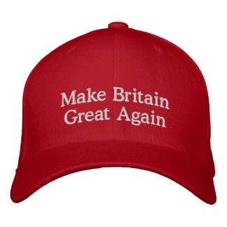 Make Britain Great Again Cap