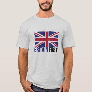 Make Britain Great Again UK First Flag Brexit T-Shirt