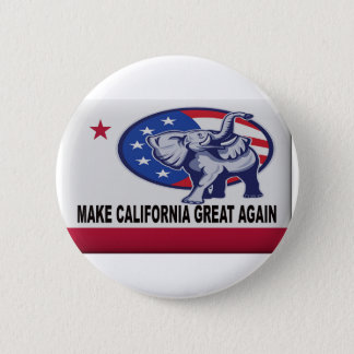Make California Great Again 2 Inch Round Button