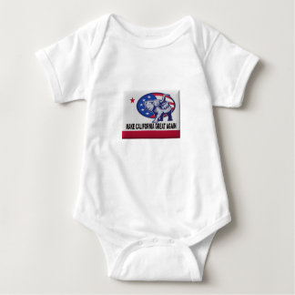 Make California Great Again Baby Bodysuit