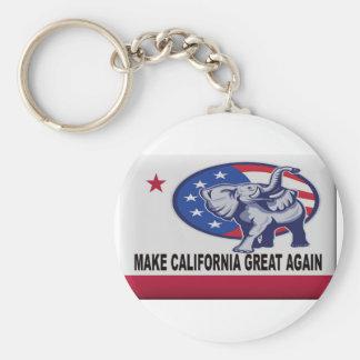 Make California Great Again Keychain