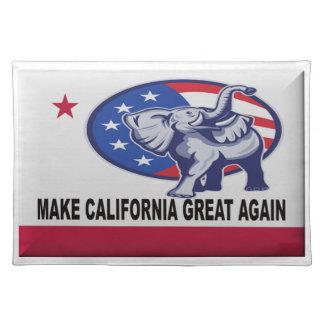 Make California Great Again Placemat