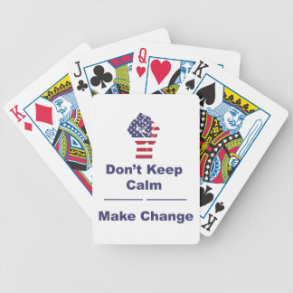 Make Change Bicycle Playing Cards