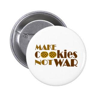 Make Cookies Not War 2 Inch Round Button