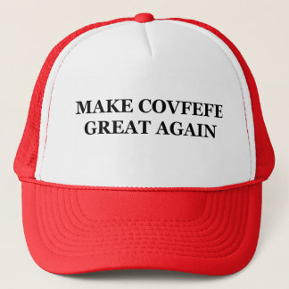 Make Covfefe Great Again Ball Caps Red
