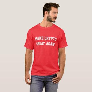 """Make Crypto Great Again"" Red Premium Shirt"