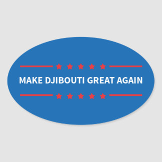 Make Djibouti Great Again Stickers