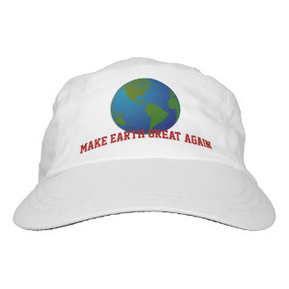 """Make Earth Great Again."" & Blue Earth Headsweats Hat"