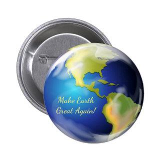 Make Earth Great Again Button