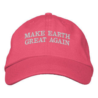 MAKE EARTH GREAT AGAIN - MEGA EMBROIDERED HAT