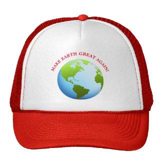 Make Earth Great Again Trucker Hat