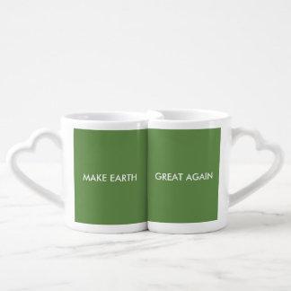 Make Earth Great (and green) Again! Coffee Mug Set