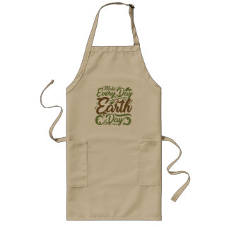 Make Every Day Earth Day - Long Apron