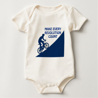 Make every revolution count baby bodysuit