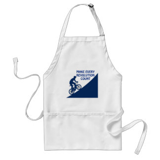 Make every revolution count standard apron