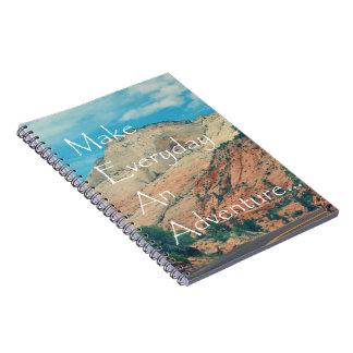 Make Everyday An Adventure Spiral Note Book