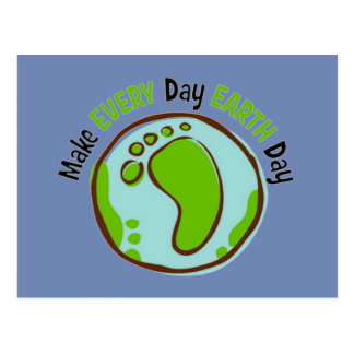 Make Everyday Earth Day Postcard
