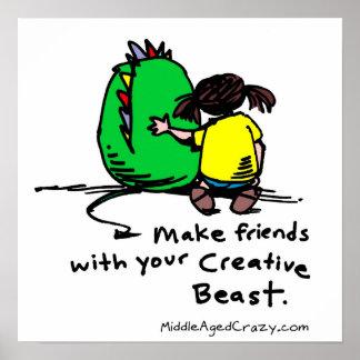 Make Friends Poster