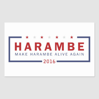Make Harambe Alive Again