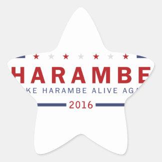 Make Harambe Alive Again Star Sticker