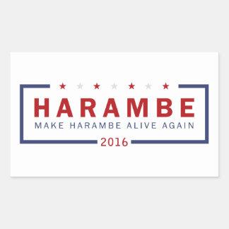 Make Harambe Alive Again Sticker