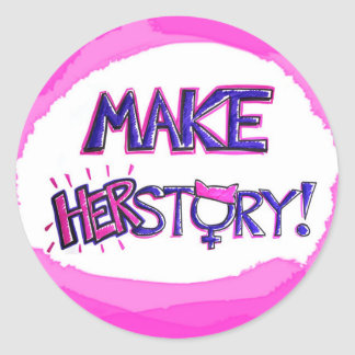 Make HERstory Sticker