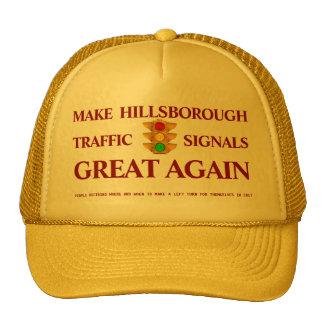 Make Hillsborough Traffic Lights Great Again Trucker Hat
