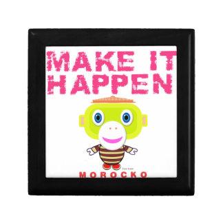 Make It Happen-Cute Monkey-Morocko Gift Box