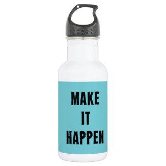 Make It Happen Inspirational Drink Bottle