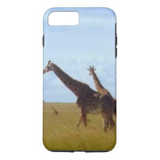 Make it Kenyan African Safari Giraffes iPhone 8 Plus/7 Plus Case
