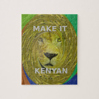 Make it Kenyan Jigsaw Puzzle