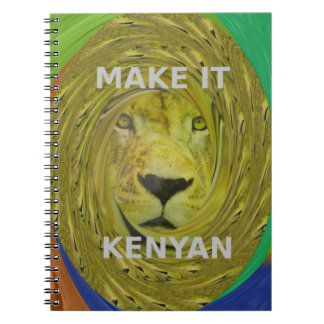 Make it Kenyan Notebook