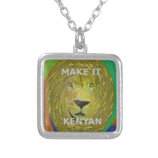 Make it Kenyan Silver Plated Necklace