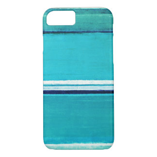 'Make it Last' Turquoise Abstract Art iPhone 7 Case