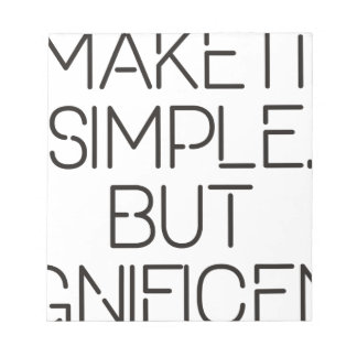 Make it simple. notepad