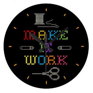 Make It Work Clock