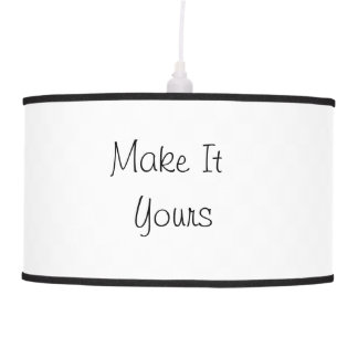 Make It Yours Pendant Lamp Template