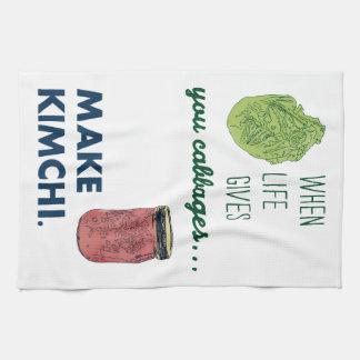 Make Kimchi! Kitchen Towel