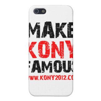 Make Kony Famous - Kony 2012 iPhone 5/5S Case