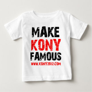 Make Kony Famous - Kony 2012 T-shirt