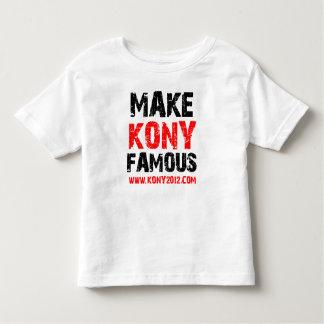 Make Kony Famous - Kony 2012 Tee Shirts