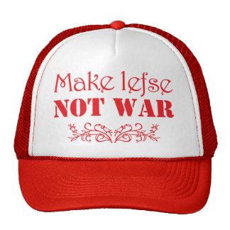 Make Lefse Not War Hat