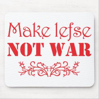Make Lefse Not War Mousepad