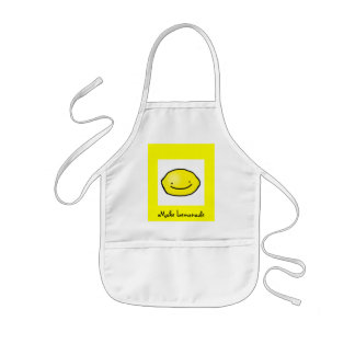 Make Lemonade Kids Apron