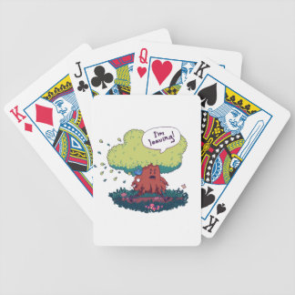 Make Like a Tree Bicycle Playing Cards