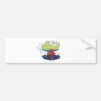 Make Like a Tree Bumper Sticker