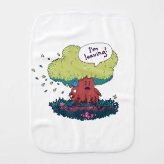 Make Like a Tree Burp Cloth