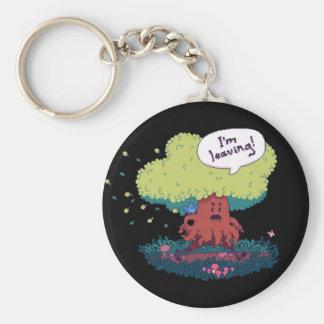Make Like a Tree Keychain