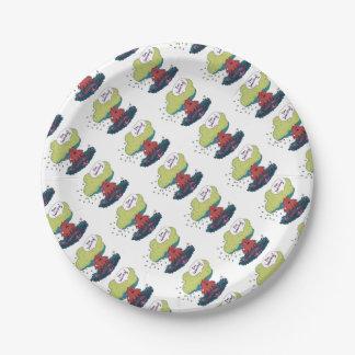 Make Like a Tree Paper Plate